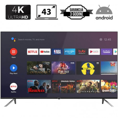 Tesla LED TV 43'' 4K Ultra...