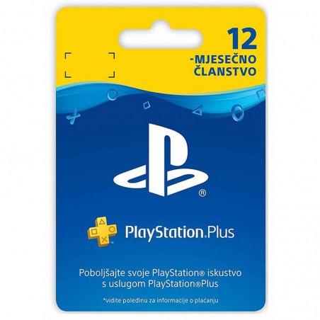 PlayStation Plus kartica za...