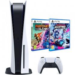 PlayStation 5 + 2 igre...