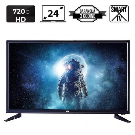 VOX LED TV 24'' VOX24DSA306H